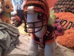Rainbow Dash in Bengals Helmet and Jersey by Athletic-Dashie