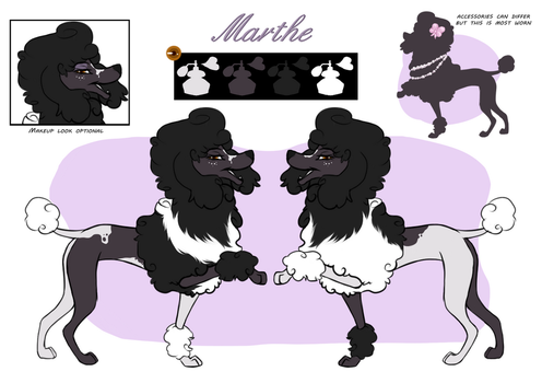 Marthe - ref by Hibiscuses