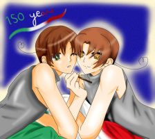 APH: Italy bros by Watery21