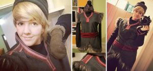 Kristoff Cosplay Progress by Daishota