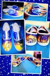 Aladdin and Jasmine Custom Shoes by Alexia33024