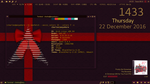 An XFCE Merry Christmas screenshot by cbowman57