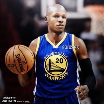 Ray Allen to the Warriors | Jersey Swap by ClydeGraffix