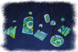Blue-green-white-collection by garbo009