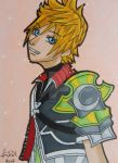 KH: Ventus ACEO card by LadyNin-Chan