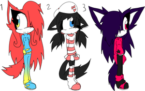 Sonic Adoptables 9 +CLOSED+ by Sky-Yoshi