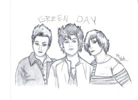 Green Day draw by GreenMich