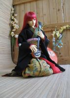 BJD Sokuto, Gentle Shamisen Melody by InarisansCrafts