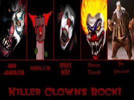 Killer Clowns by SailorArctic