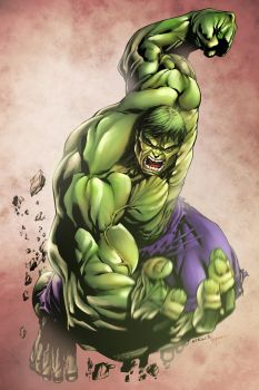 Hulk by Robert ATKINS by comicero