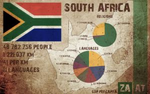 South Africa Infographics by prymus