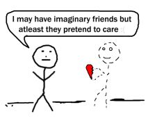 Imaginary Friends Are Better by EmpireKing
