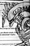 ALIEN sketch in a book by TheWallProducciones