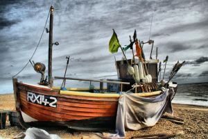 Hastings Boat by Deb-e-ann