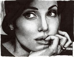 Angelina Jolie by Artistic-mama84