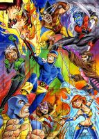 Xmen marvel 70th by andypriceart