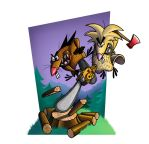Angry Beavers by ManlioRocher
