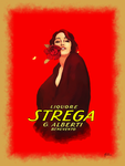Strega Advert Reproduction by Albion-James