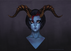 Queen of Pain by Artist-LaiNa