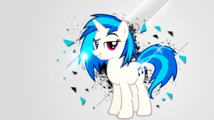 Vinyl Scratch by DividedDemensions