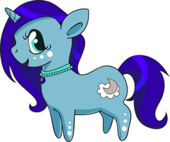 Commish: Misty Moon - Chibi by Squeemishness