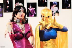 MADAME XANADU and DR FATE by Prometheacosplay
