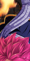Natsu Dragneel - Fairy Tail CH: 351 by Gray-Dous