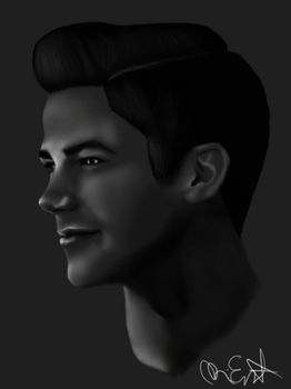 BW Grant Gustin by Nephaddicted