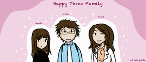 Happy T(h)ree Family by mirqonte