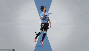 Edinson Cavani by KemalEkimGraphic