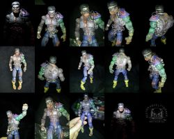 Custom Marvel Legends Marvel Zombies Power Man by ayelid