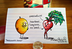 Very Punny, Guys 7: Loving Fruits by OdieFarber