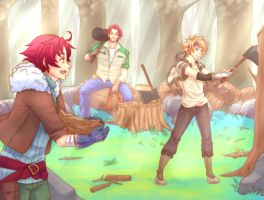 EE - (fe1) Men and Sweat by NEWLL