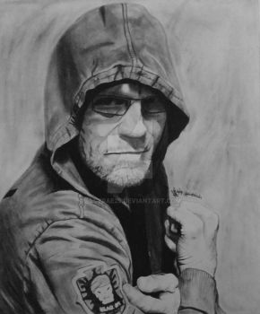 Michael Rooker Black Ops Jacket by AllyRae29