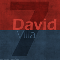 7. David Villa by w6n3oshaq