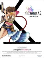 Final Fantasy X-2 Movie Poster by yic
