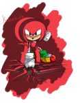 Classic Boom - Knuckles the echidna by IceNinjaHard