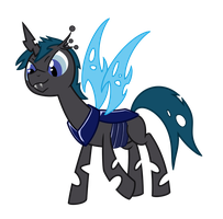 Requested Changeling OC by Syggie