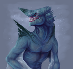 Cold Wyvern by lizcakes