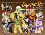 Daring Do: Ponies of the Lost Ark (Alternate) by tygerbug