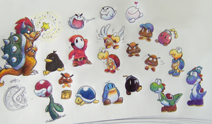 Mario Critters by Latte3000
