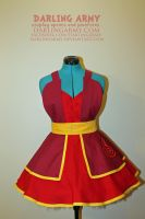 Fire Nation - Avatar Universe - Cosplay Pinafore by DarlingArmy