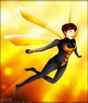 A Wasp in the Morning Sun by BlizzardCaster