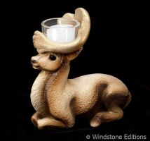 Reindeer candlelamp by Reptangle