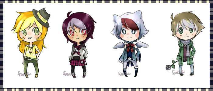 Adoptables - mixed set for points (CLOSED) by Faize