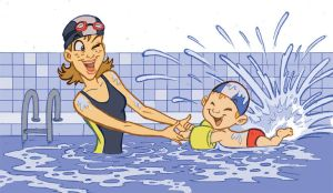 Swimming lessons for kids by SteCarreri