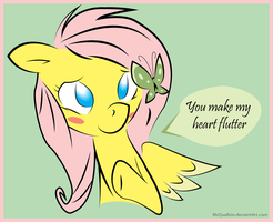 You Make My Heart Flutter by MrQuallzin