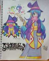 :Kirby: Witch of Paint - DRAWCIA by SuperMarioFan888