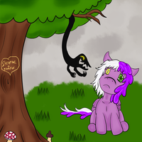 The Something in the Tree by ShrapnelShark