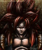 Gogeta SSJ4 from DragonBall by AtomiccircuS